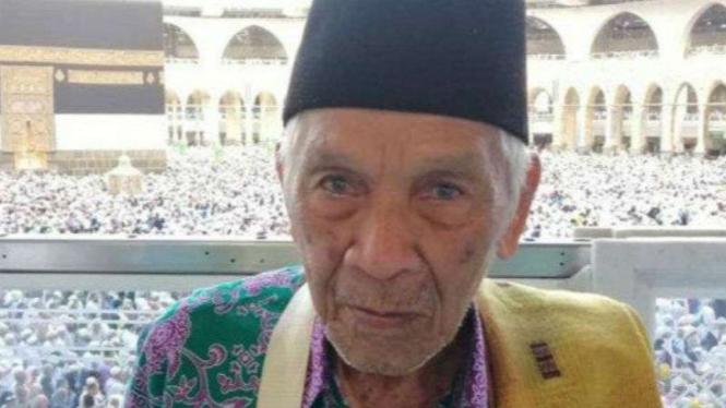Tapsirin Wajat Ratam (81), jemaah haji asal Palembang yang hilang di Mekah.