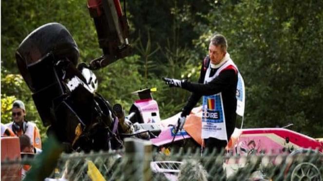 Pembalap F2, Anthoine Hubert terlibat kecelakaan maut