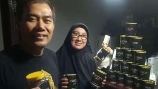 Ismato Danu dan istri, Herlina Kusumah