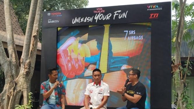 Viva TalkLife Unleash Your Fun, Yuk Berkenalan dengan Toyota Yaris