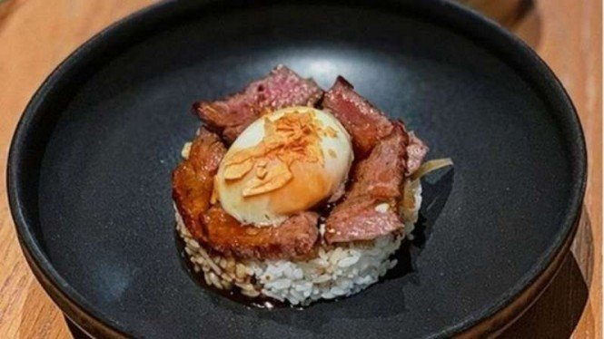 Hidangan di Izikaya by Oku Bali