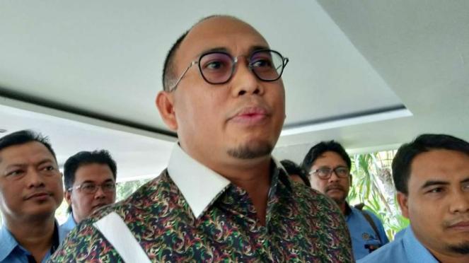 Anggota DPR RI dari fraksi Gerindra, Andre Rosiade di Kantor KSP.