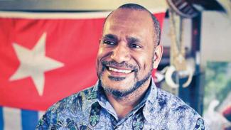 Ketua Gerakan Pembebasan Bersatu untuk Papua Barat, Benny Wenda.