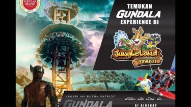Jungleland luncurkan wahana Gundala.