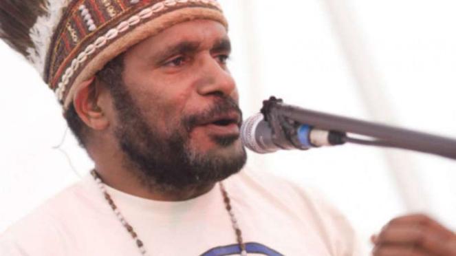 Benny Wenda, aktivis Papua.