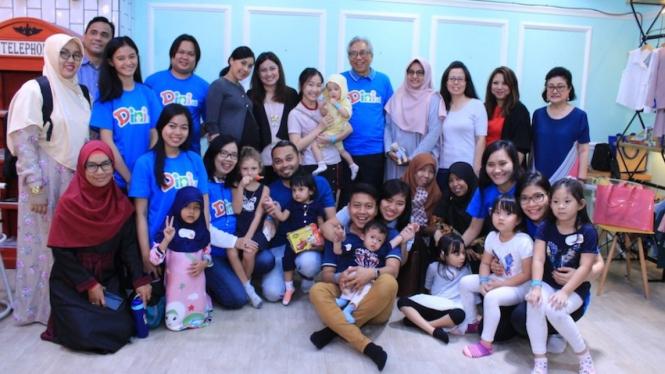 """Seminar """"Mengatasi Speech Delay pada Anak Usia Dini"""" dan peluncuran website www.dini.id oleh dr. Anggia Hapsari, SpKJ (K), Sabtu (31/8)."""