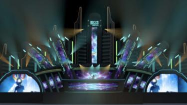 """Ilustrasi Main Stage – Panggung Utama """"Horizon of Elysium"""""""