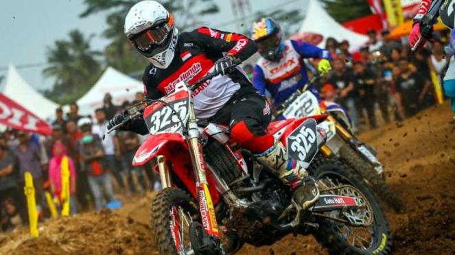 Tim AHRT di Kejurnas Motocross seri pertama 2019