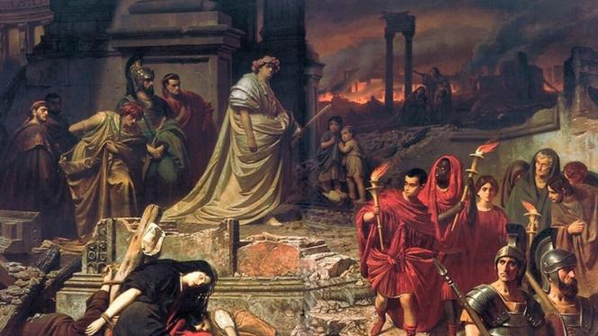 Kaisar Nero, by wikipedia