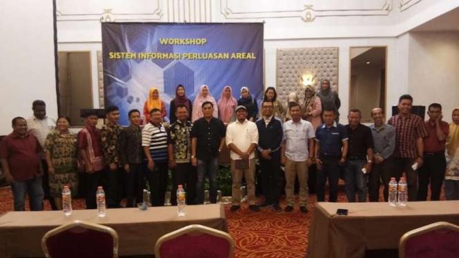 Workshop Uji Coba Siperal di Hotel Savero Bogor, Rabu (4/9).