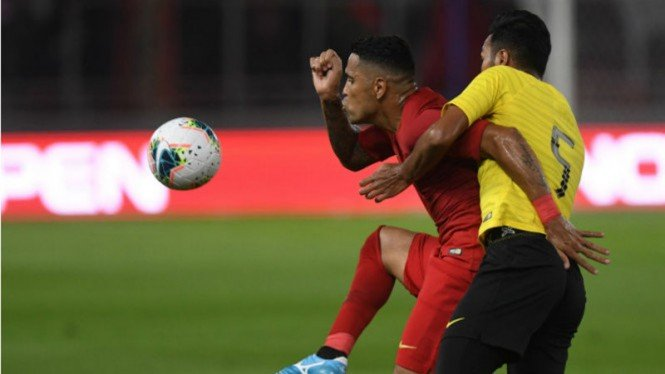 Timnas Kalah, Selisih Satu Gol dari Malaysia