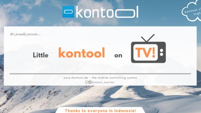 Horeee Kontool Masuk TV, Terima Kasih Orang Indonesia!