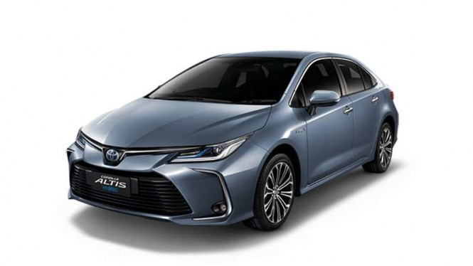 All New Toyota Corolla Altis Hybrid
