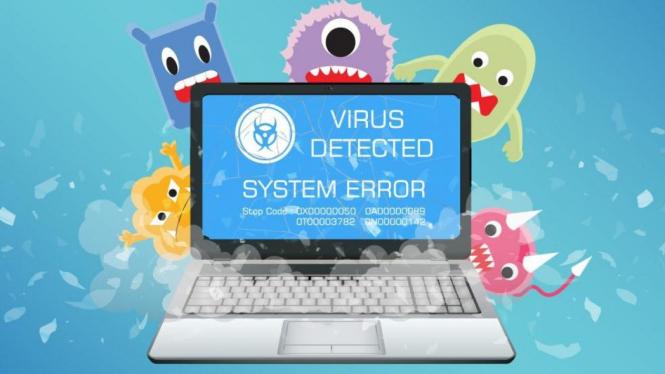 Virus Laptop