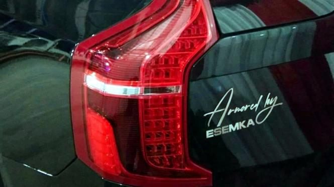Mobil SUV misterius di peluncuran Esemka Bima