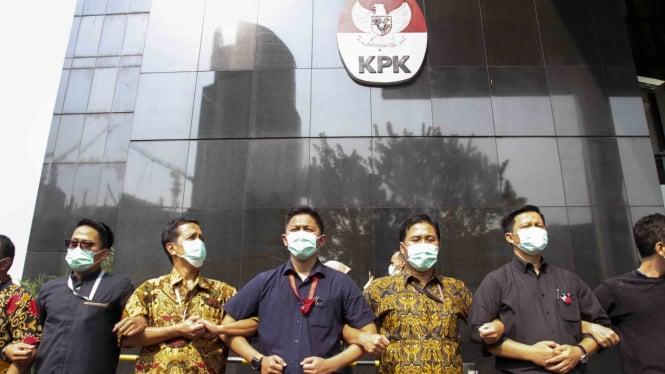 Pegawai KPK tolak revisi UU KPK (Foto llustrasi).