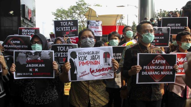 5 Partai Pendukung Jokowi yang Usulkan UU KPK Direvisi