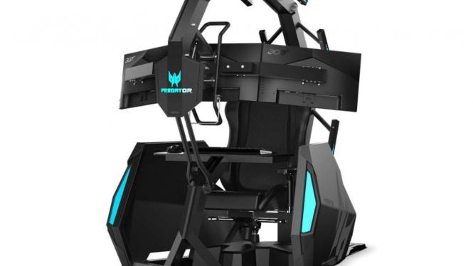 Singgasana gamer profesional besutan Acer, Predator Thronos Air