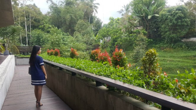 Jembatan Kayu Secret Garden Village Bali