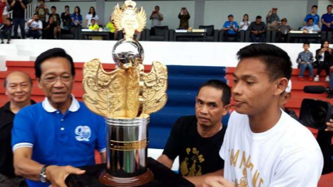 Timnas Indonesia U-23 juara HBX Cup 2019.