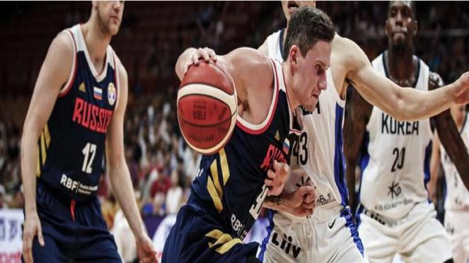 Timnas Bola Basket Rusia