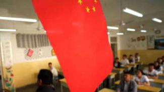 Kamp pendidikan vokasi bagi Uighur di Xinjiang, China