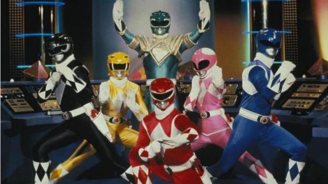 Mighty Morhin Power Rangers.
