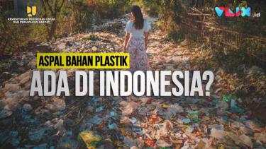 Aspal Bahan Plastik di Indonesia