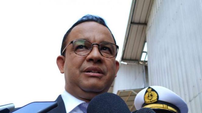 Gubernur DKI Jakarta Anies Baswedan di Jakarta.