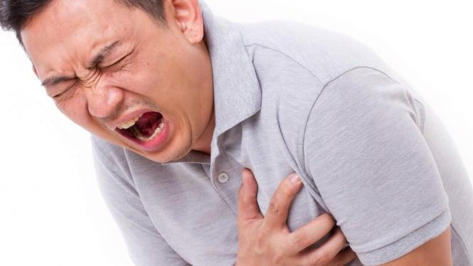 Ilustrasi penderita penyakit jantung
