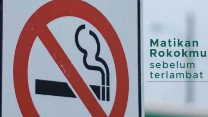 Stop merokok.
