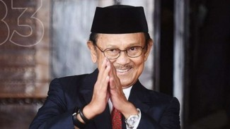 BJ Habibie. Presiden ke-3 Republik Indonesia.
