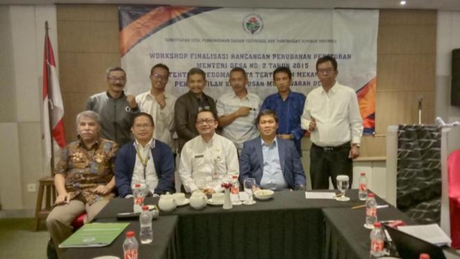 Workshop Finalisasi Rancangan Perubahan Peraturan Menteri Desa