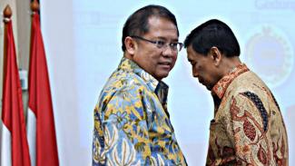 Ratusan Karyawan Bukalapak Kena PHK, Rudiantara: Itu Mah Biasa!. (FOTO: Wahyu Putro A)