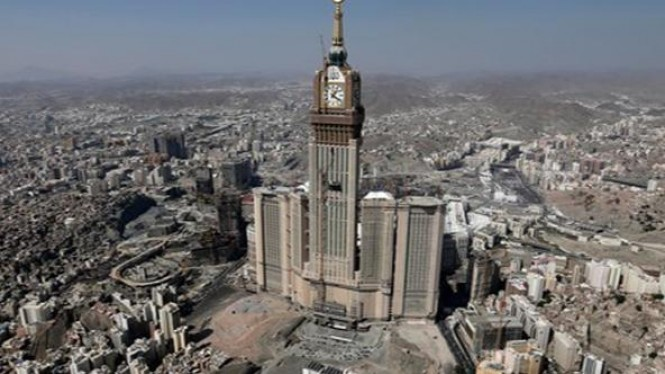 Menara Jam Abraj Al-Bait Tower