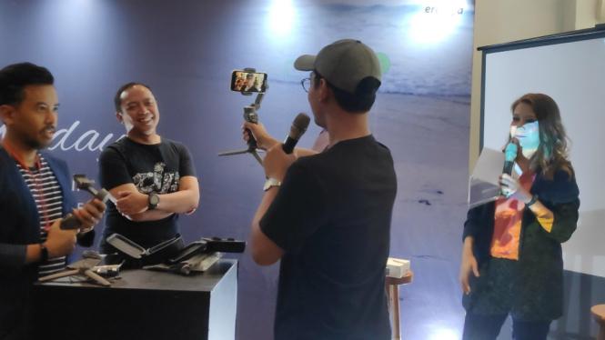 DJI kenalkan Osmo Mobile 3 di Jakarta, Rabu, 11 September 2019
