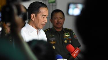 Presiden Joko Widodo sampaikan belasungkawa atas meninggalnya BJ Habibie.