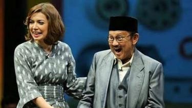 Najwa Shihab dan BJ Habibie