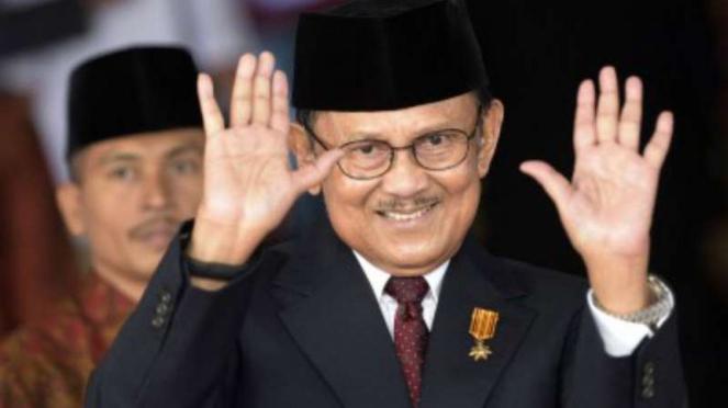 Presiden ketiga RI BJ Habibie