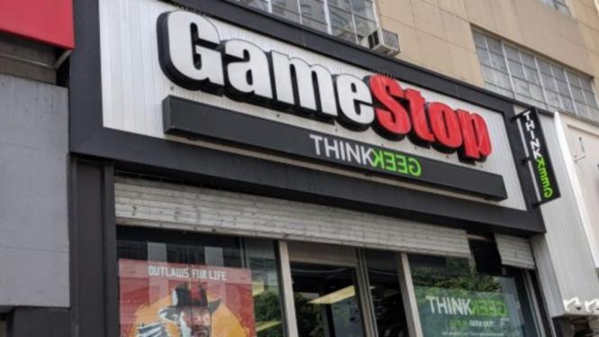 Toko game GameStop