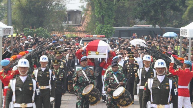 Pemakaman Mantan Presiden BJ Habibie