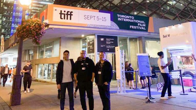 Tim Gundala di Toronto International Film Festival.