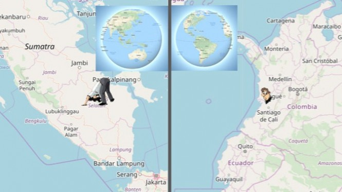Kota Palembang, Indonesia akan tembus di Kota Neiva, Kolombia