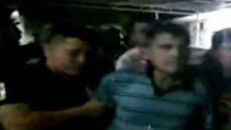 Haedar saat ditangkap polisi.