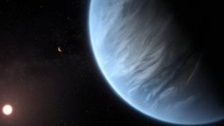 Ilustrasi planet baru.