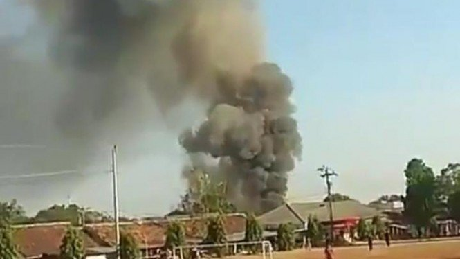 Ledakan di Mako Brimob Semarang