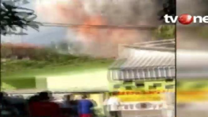 Ledakan di Mako Brimob Srondol, Semarang