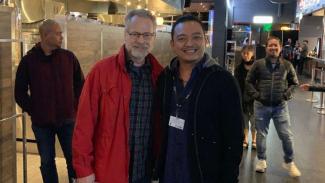 llustrator Kondang Marvel, David Ross, puji  Gundala di Toronto International Film Festival 2019.