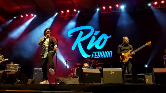 Rio Febrian di Balkonjazz Festival 2019.