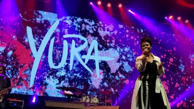 Yura Yunita di Balkonjazz Festival 2019.